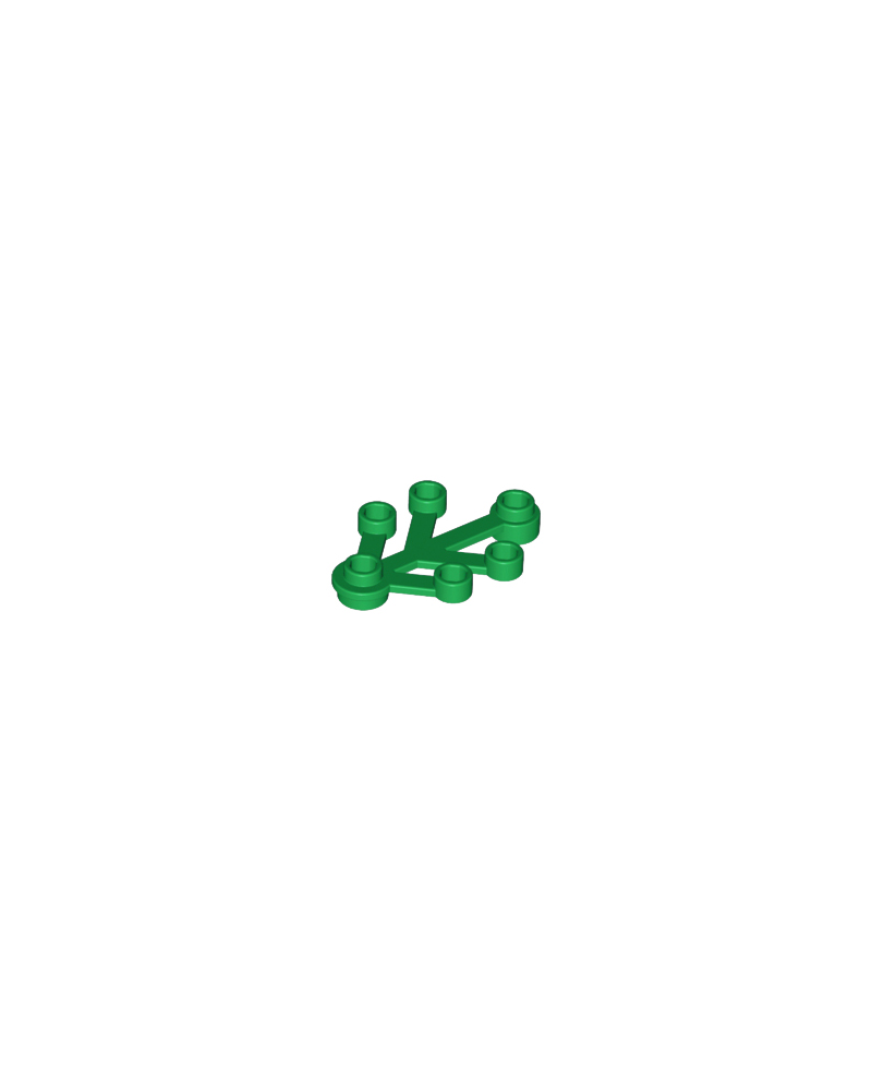 LEGO® plant leaves 4x3