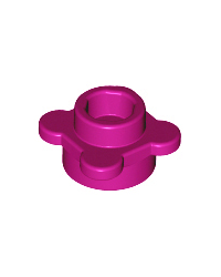 LEGO® flor magenta, plato redondo 1x1