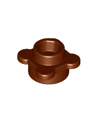 LEGO® flower reddish brown