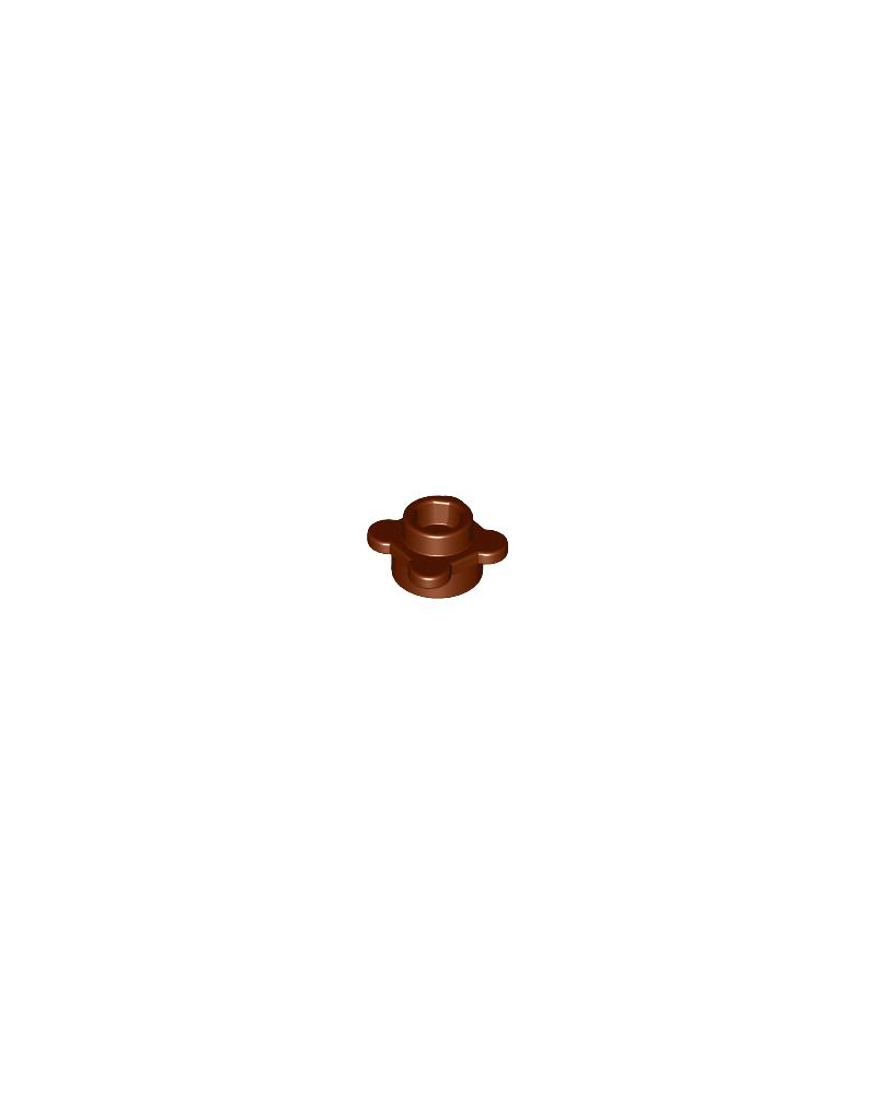 LEGO® flor marrón, plato redondo 1x1