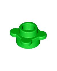 LEGO® flor verde, plato redondo 1x1