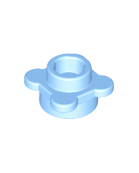 LEGO® flor celeste, plato redondo 1x1