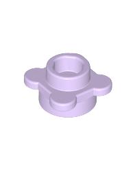 LEGO® flor lavanda, plato redondo 1x1