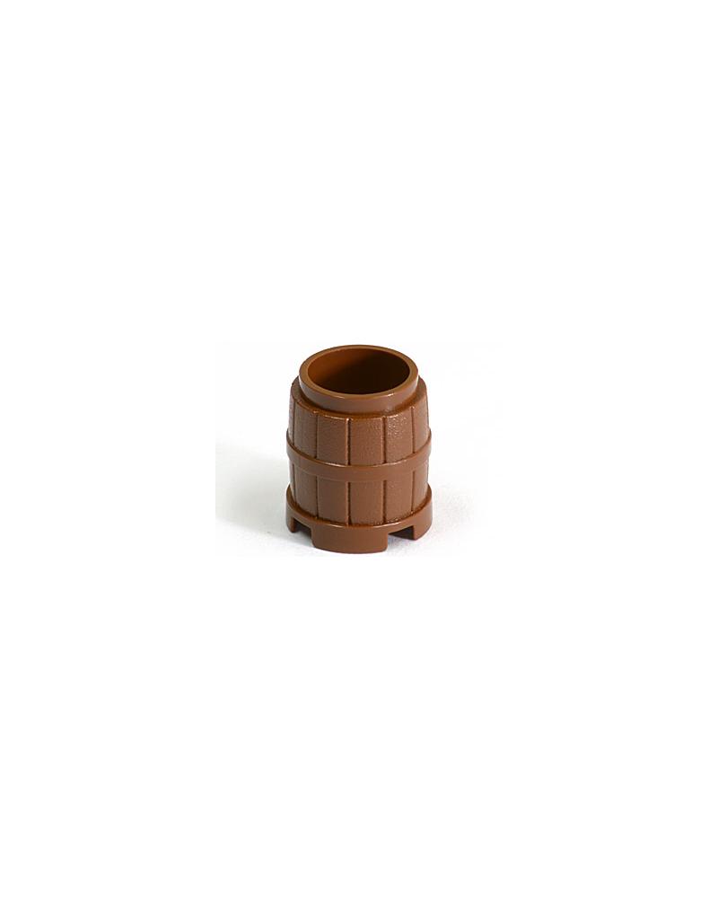 LEGO® barrel reddish brown