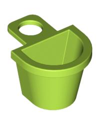 LEGO® basket green