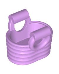 LEGO® basket medium lavendel