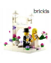 Adorno de tarta Matrimonio LEGO® personalizado