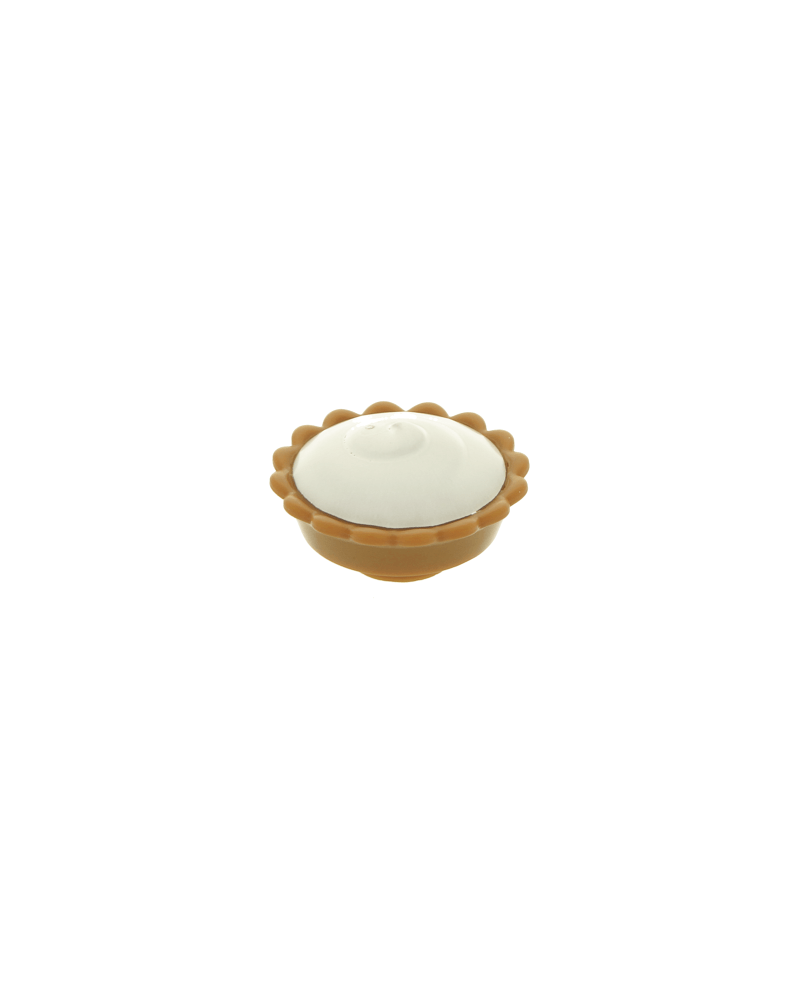 LEGO® Pie with White Cream