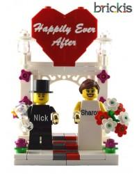 LEGO® wedding cake topper