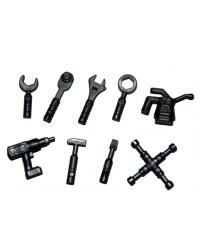 9x LEGO® tools