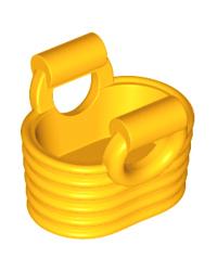 LEGO® mand licht oranje