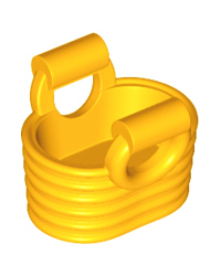 LEGO® panier orange clair