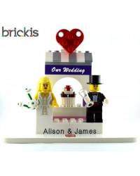 LEGO® huwelijkstaart topper