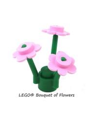 LEGO® Ramo de flores rosas púrpuras