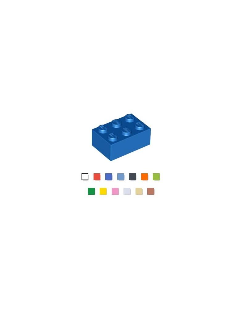 LEGO® 2x3 steen kies uw kleur
