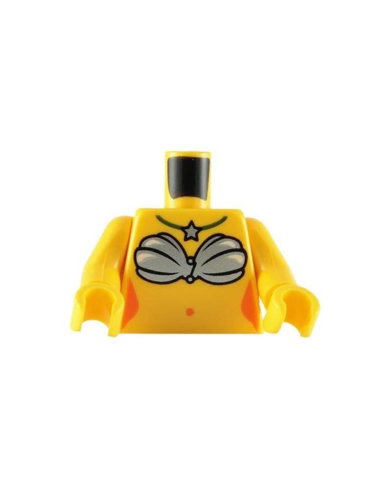 LEGO® torso zeemeermin