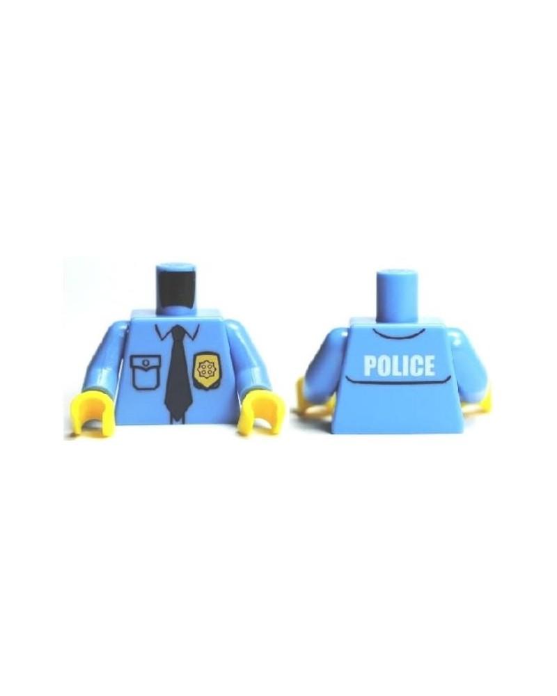 LEGO® torso Polizei