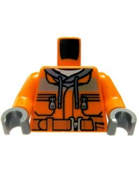 LEGO® torse travailleur de la construction