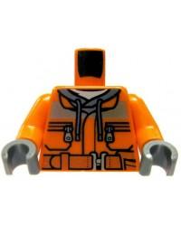 LEGO® torso construction worker