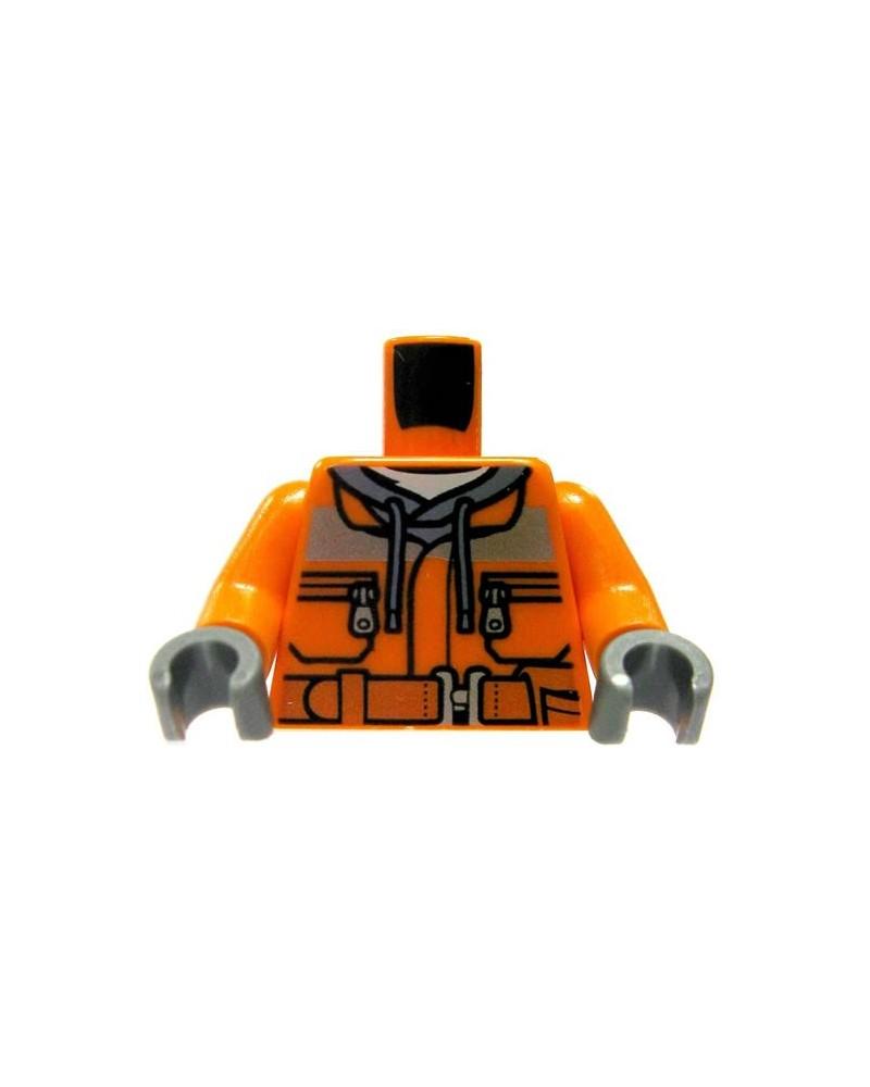 LEGO® torso Bauarbeiter