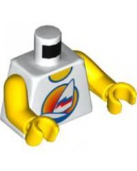 LEGO® torso avec voile