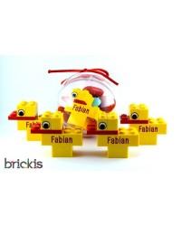 20 canetons LEGO® gravés...