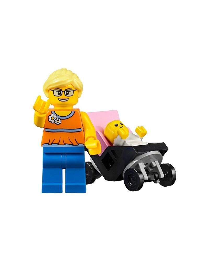 Minifigura LEGO® 45022 mamá y bebé