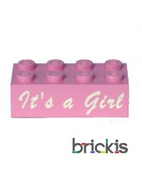 LEGO ® brick It's a girl