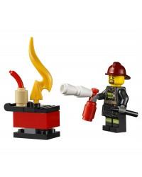 LEGO® pompier minifigure
