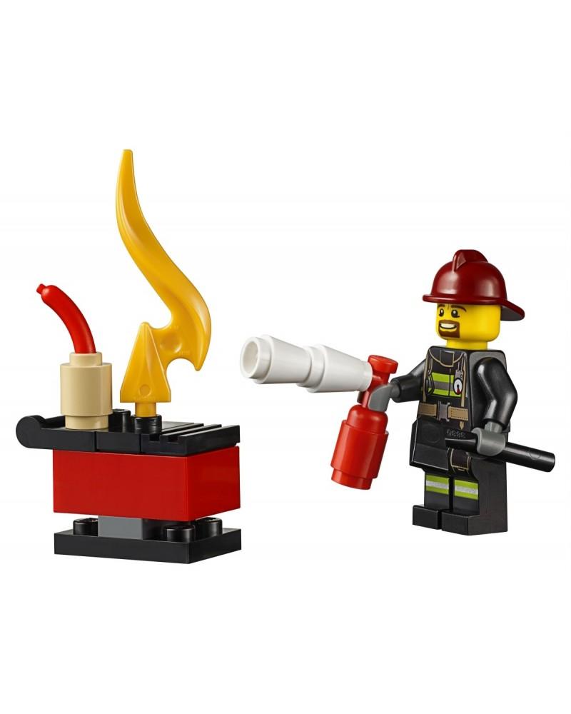 LEGO® fireman minifigure