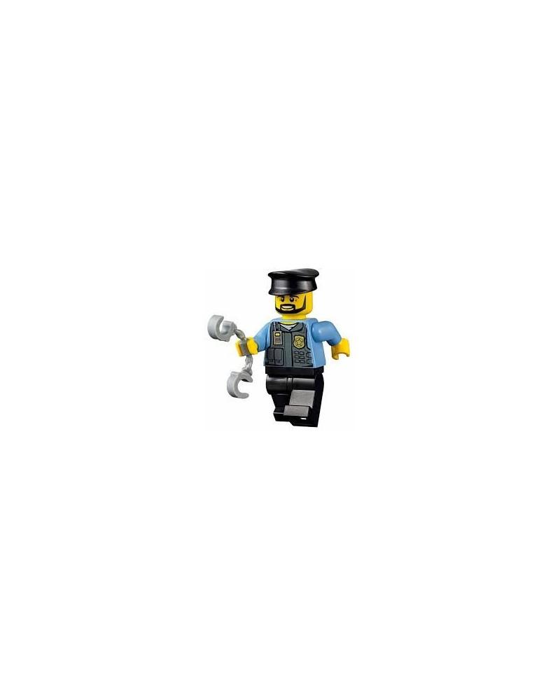 LEGO® politie / politieagent minifiguur