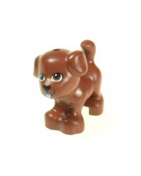 LEGO® Friends dog brown 93088pb07
