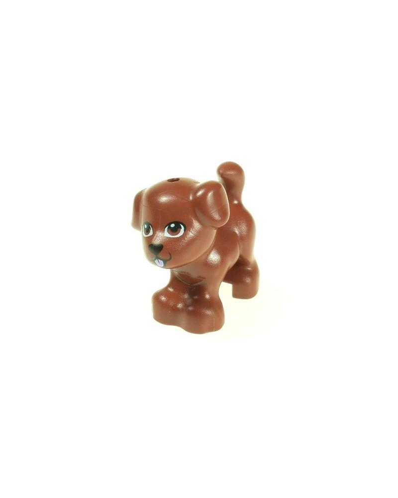 LEGO® Friends bruine hond 93088pb07