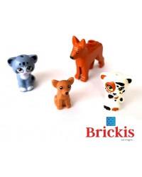 LEGO® 2 honden + 2 katten