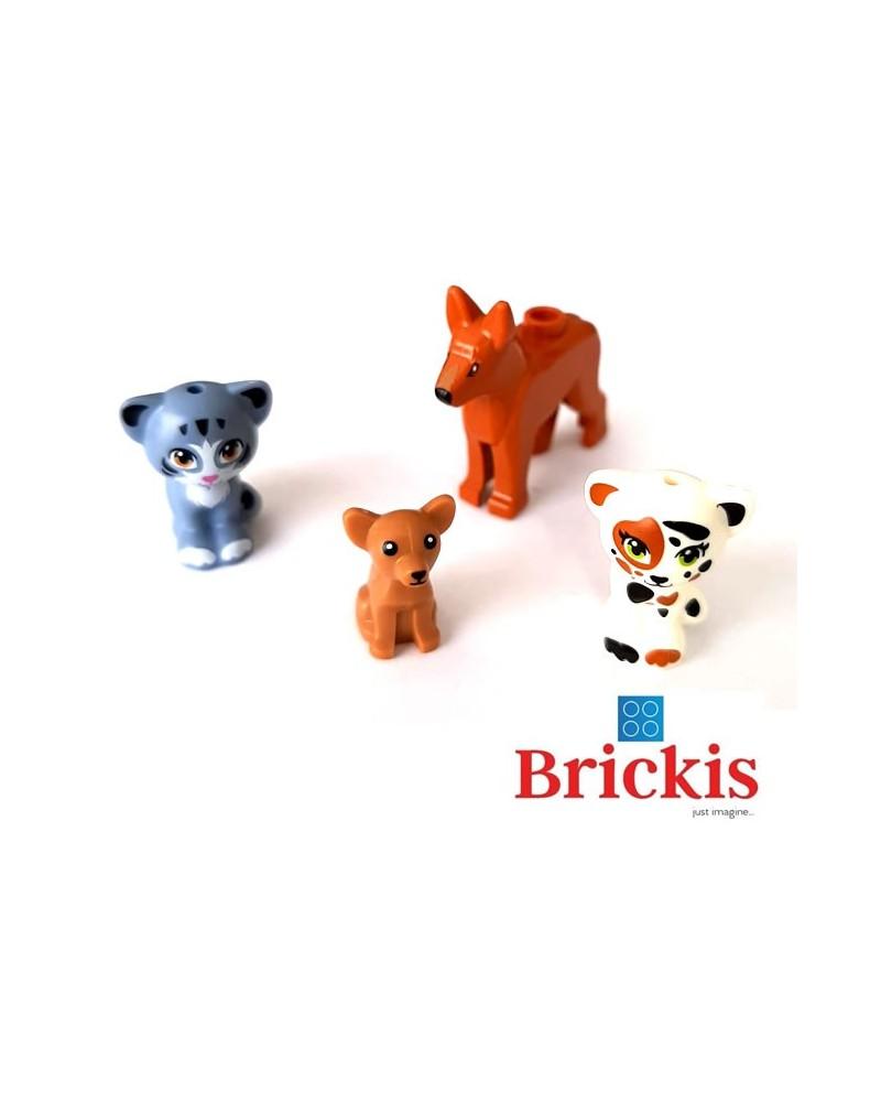 LEGO 2 Hunde + 2 Katzen