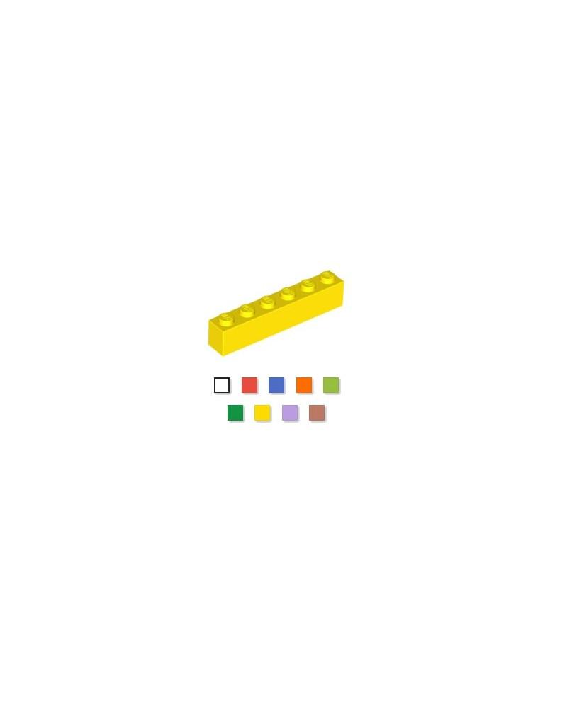 LEGO® 1x6 geel