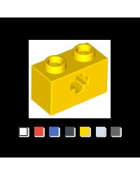 LEGO® technic 1x2 axl loch...