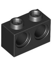 LEGO® technic 1x2 met 2 gaten 32000 zwart