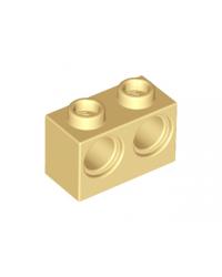 LEGO® technic 1x2 2 holes 32000 tan