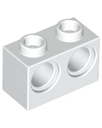 LEGO® technic 1x2 met 2 gaten 32000 wit