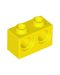 LEGO® technic 1x2 met 2 gaten 32000 geel