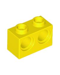 LEGO® technic 1x2 avec 2 trous 32000 jaune