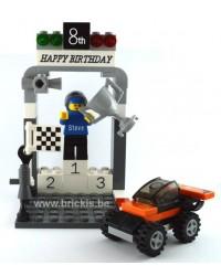 LEGO® RACERS Kuchen Topper...