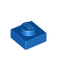 LEGO® Plaat  plate 1x1 blauw