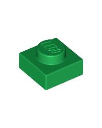 LEGO® Plate 1x1 green