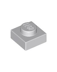 LEGO® Plaat  plate 1x1 lichtgrijs
