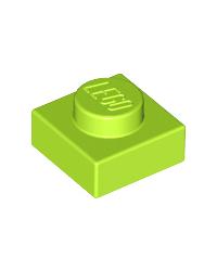 LEGO® Plaat  plate 1x1 lime groen