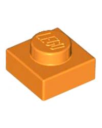 LEGO® Plaat  plate 1x1 oranje