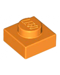 LEGO® Plate 1x1 orange