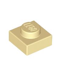 LEGO® Plaat  plate 1x1 tan